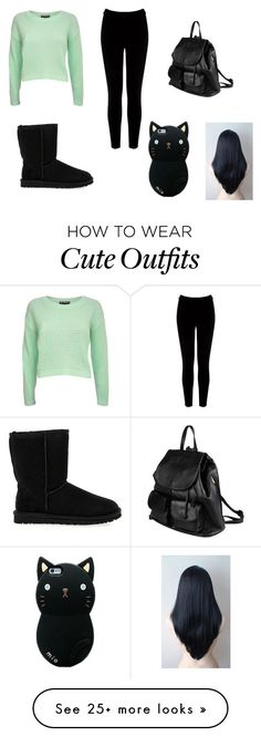 """""""Outfit #31"""" by raydenlover3102 on Polyvore featuring Warehouse, UGG Australia and PARENTESI"""