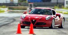 Alfa Romeo 4C Slalom