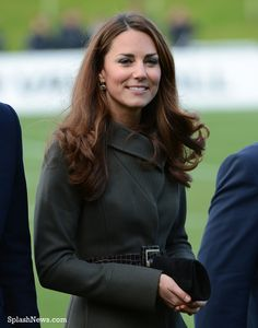 The Duke and Duchess of Cambridge attend the opening of St. George's Park