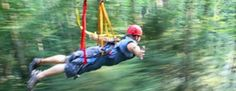 """Guests will enjoy an exclusive discount on a Canopy Tours Zipline package at The Hocking Hills Canopy Tours when booking package through Glenlaurel. Guests may have their choice of the original """"Zipline Canopy Tour,"""" or the """"X -Tour."""" More information on these tours is available on Hocking Hills Canopy Tours."""