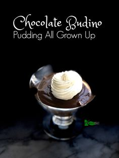 Keto Chocolate Pudding Recipe from Spinach Tiger