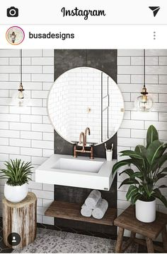 Außergewöhnliche weiße Badezimmerideen Home Design - home decor diy Exceptional white bathroom ideas home design ideas Bad Inspiration, Bathroom Inspiration, Furniture Inspiration, Interior Inspiration, Budget Bathroom, Bathroom Interior, Bathroom Ideas, Bathroom Sinks, Diy Bathroom