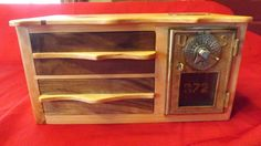 1896 Dial Point Ray Post Office Box Door by woodstalkshop on Etsy, $199.00
