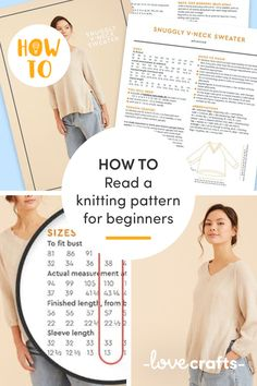Mystified by knitting patterns? Confused by the abbreviations and muddled by the maths? Don't worry! This handy guide will have you fluent in no time. | Learn with LoveCrafts.com