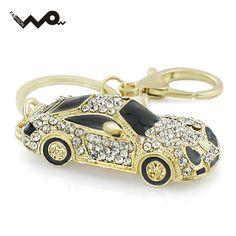 쿨 로드스터 스포츠 자동차 크리스탈 핸드백 펜던트 유행 열쇠 고리 자동차 지갑 가방 버클 키 홀더 키 체인 K164