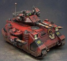 Blood Angels, Imperial, Predator, Tank, Warhammer 40,000