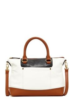 Smooth Operator Convertible Leather Satchel da46d6273df89