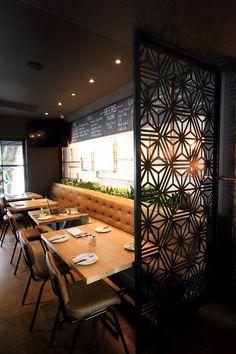 Perforated Restaurant Screening