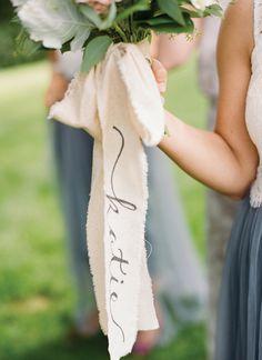 Bouquet Ribbon || Jen Fariello