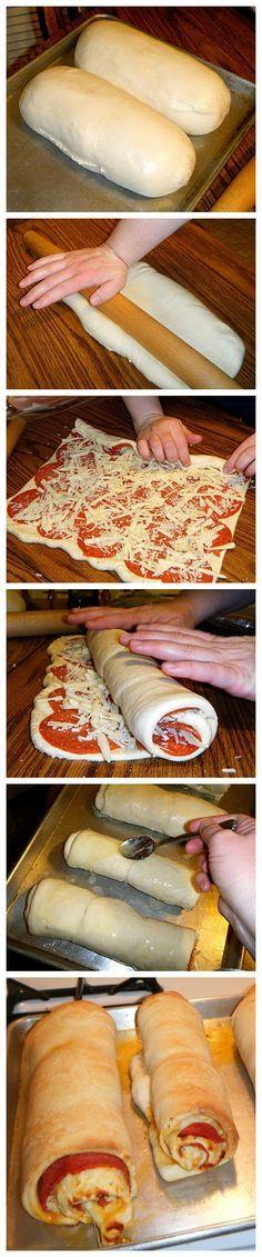 joysama images: Pepperoni Roll