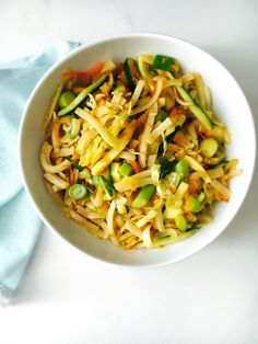 Vegan Pad Thai - a d