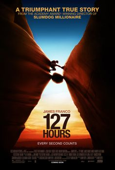 127 Hours With James Franco, Amber Tamblyn, Kate Mara. Written by Danny Boyle, Simon Beaufoy and Aron Ralston. Directed by Danny Boyle. James Franco, See Movie, Picture Movie, Movie Tv, Crazy Movie, Picture Video, Kate Mara, Popular Movies, Great Movies