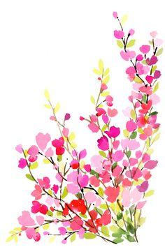 Yao Cheng Design SPRINGTIME Art Print