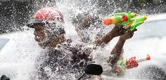 Welcome to Soul 2 Soul Mates Blog: Bangkok cuts Songkran water fights short amid drou...