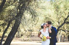 Sunny Yellow and Navy Ranch Wedding from Looking Glass Photography » Hey Wedding Lady