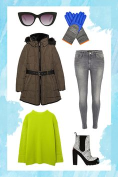 7 Outfits You Won't Freeze To Death In #refinery29  http://www.refinery29.com/winter-going-out-outfits#slide4  Tailgating Whether it's at an NFL game or your alma mater, tailgating always sounds like a good idea — that is, until you check the forecast. Keep warm in a quilted, down coat and weather-resistant boots — bring extra add-ons with you, too. Layering is the tailgater's very best friend.