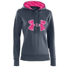 under armour sweatshirt women   Under Armour PIP Storm Armour Fleece Big Logo Hoodie - Womens - Lead ...