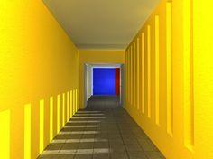 Casa Giraldi. Después de casi diez años de inactividad, Luis Barragán realizó su última obra a los 80 años de edad. Al igual que en toda su arquitectura, la Casa Giraldi cuenta con espacios que ofrecen una multitud de sensaciones, resultado de los juegos de luces, colores y distribución del espacio.