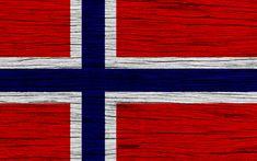Herunterladen hintergrundbild flagge von norwegen, 4k, europa, holz-textur, norwegische flagge, nationale symbole, norwegen flagge, kunst, norwegen
