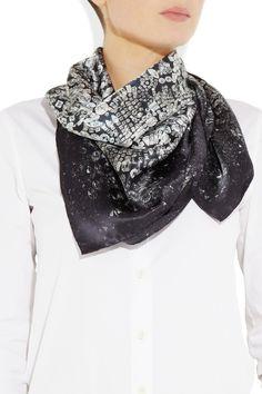silk scarf 4 Foulard, Soie, Bijou, Comment Porter Des Foulards, Écharpes, b75a03f9118