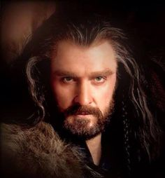 The photo that launched a million loves... Thorin Oakenshield by Richard Armitage....