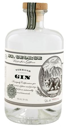 St. George Terroir Gin 0.7L 45% - Amerika