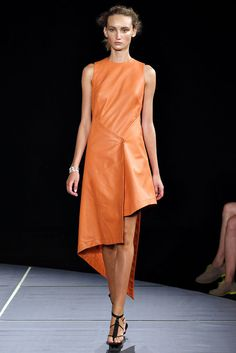 Asymetrical hems in this store, hi lo hems, OUT! Spring 2013 Jen Kao Collection
