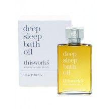 New deep sleep bath oil by This Works Natural Earth, It Works, Perfume Bottles, Fragrance, Sleep, Bath, Oil, Makeup, Presents