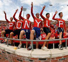 SMU football fans... U11 Spirit organization #ponyup #smumustang11 2013