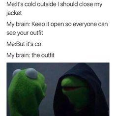63 ideas memes kermit the frog hilarious Crazy Funny Memes, Really Funny Memes, Stupid Funny Memes, Funny Laugh, Funny Tweets, Funny Relatable Memes, Funny Stuff, Funny Kermit Memes, Funny Humor