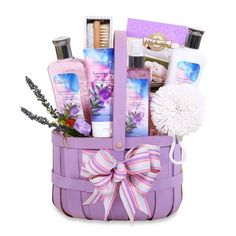 product image for Lavender Relaxation Spa Gift Basket