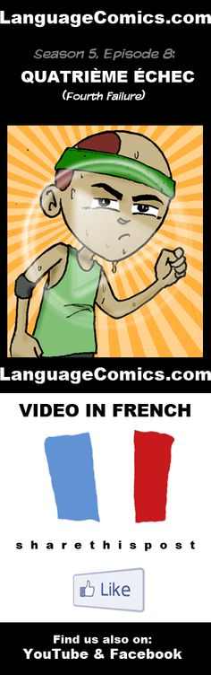 Practice your pronunciation and learn #French with this episode and many more. Enjoy and share!  http://www.youtube.com/watch?v=K9cm7eU556o  ---------------------------------------------  Also find us on http://www.Facebook.com/LanguageComics - - -  http://www.YouTube.com/LanguageComicsTeam - - - http://www.Instagram.com/LanguageComics_
