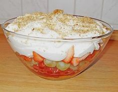 Frucht - Schicht - Salat 1