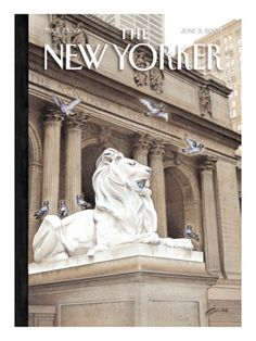 The New Yorker Cover - June 3, 2002. Harry Bliss