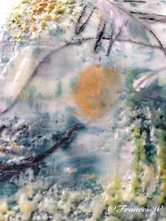 Encaustic painting. By Frances Welling
