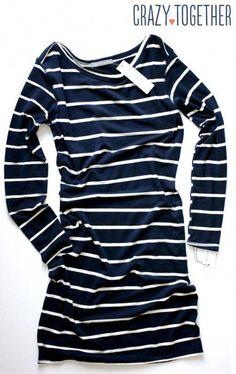 23ba8b9da1c Whitmee Button Neck Striped Shift Dress from Loveapella - February 2015  Stitch Fix