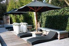 a garden styling in Huizen, the Netherlands Outdoor Living, Outdoor Decor, Outdoor Areas, Garden Styles, Garden Furniture, Netherlands, Garden Design, Patio, Landscape