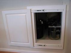 Framed access panel diy pinterest basements for Bathroom access panel ideas