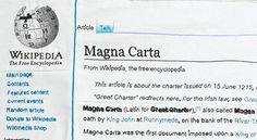 Magna Carta (An Embroidery)