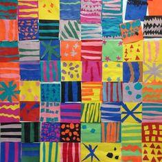 Art. Paper. Scissors. Glue!: Pattern Collage