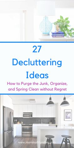 Easy Decluttering Ideas Tips and Checklist for the Home #organized #organization #declutter