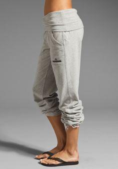 ADIDAS BY STELLA MCCARTNEY Knit Pant in Medium Grey Heather at Revolve Clothing - Free Shipping!