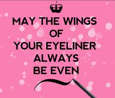 #rimmellondon #eyeliner #quote
