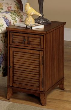 1013-22 Chairside Cabinet | Null Furniture
