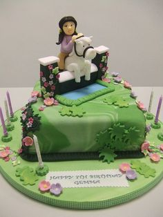 Horse Racing cake Cake by Mother and Me Creative Cakes Recepty