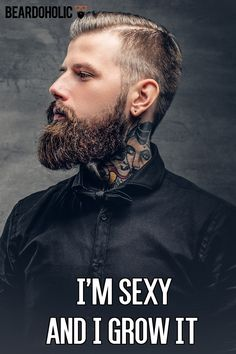 I'm Sexy and I Grow It From beardoholic.com