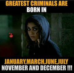 Dis means I am a criminal. Actually yeeaah. I am jan and I proud of it Crazy Girl Quotes, Crazy Girls, Girly Quotes, Girly Facts, Weird Facts, Fun Facts, Birth Month Quotes, Funny Statuses, Besties Quotes