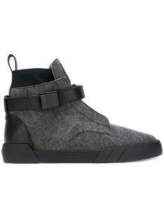 Giuseppe Zanotti Design Shark hi-top sneakers.