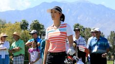 LPGA. Kraft Nabisco Championship. Two Tied at the Top, Lexi & Michelle