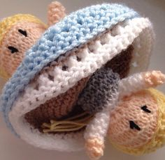 Princess Topsy Turvy Doll Hand Knitted Gift by HandmadeByAuntySara